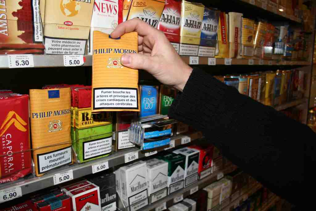 Tabac a rouler doux